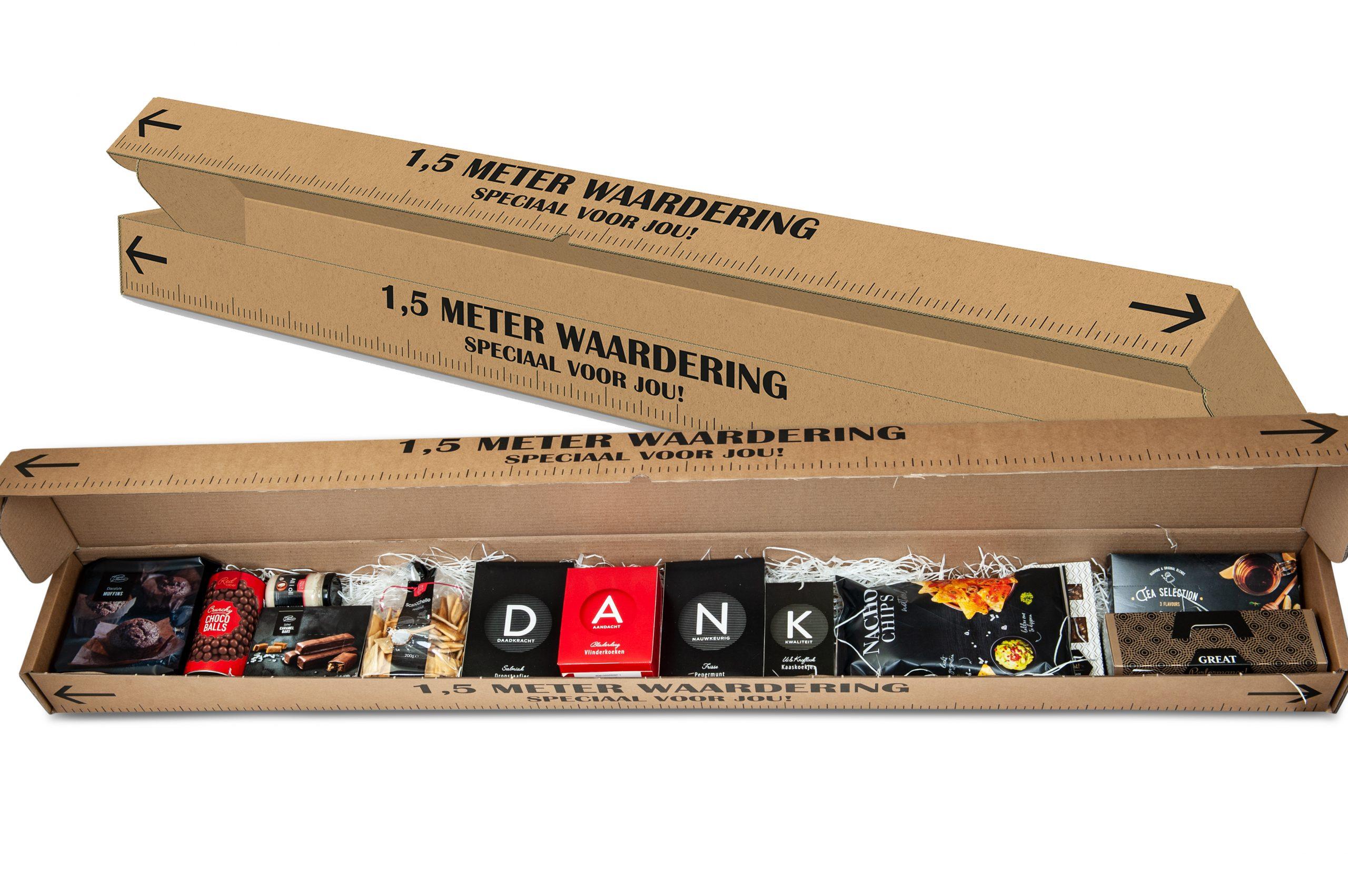 Bedankpakket 1,5 meter Waardering – DANK -2021