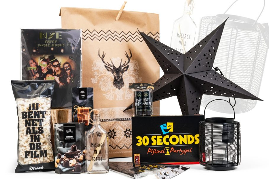 30 seconds spel in dit kerstpakket