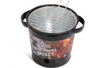 Kerstpakket met barbecue barrel