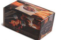 Kerstpakket met briquettes