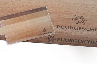 Pakketten met logo