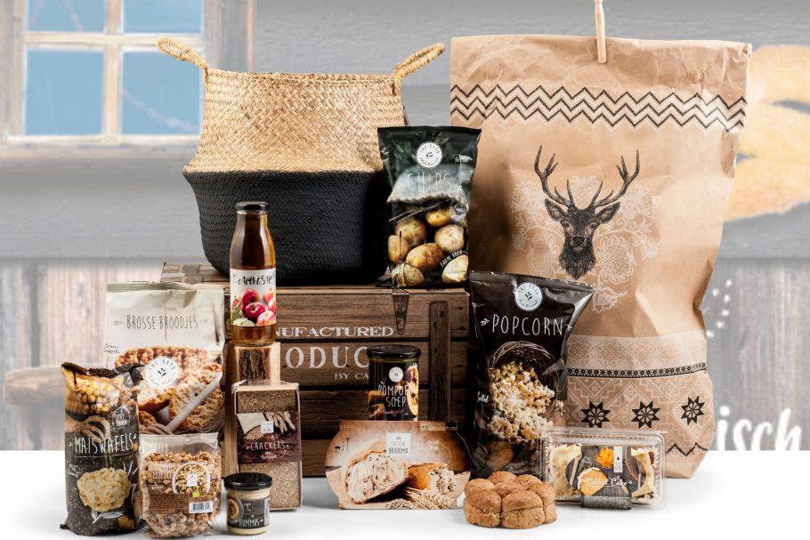 Biologische producten in dit kerstpakket