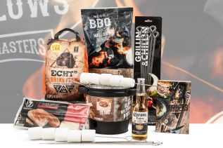 Kerstpakket Barbecue Barrel
