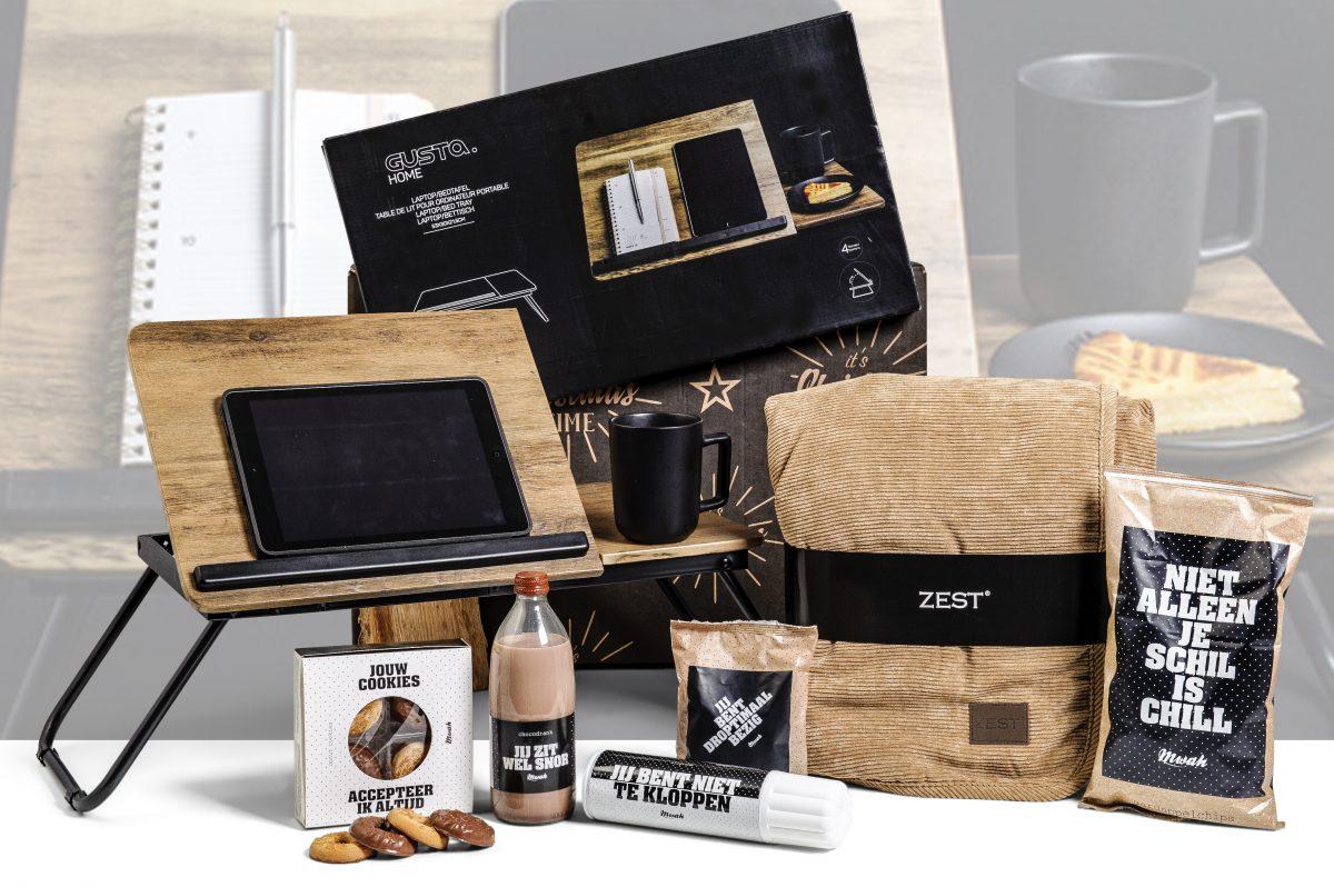 Welp Kerstpakket Laptoptafel voor op schoot – Puurgeschenk WX-06