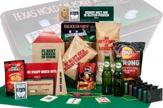 Kerstpakket Poker Set