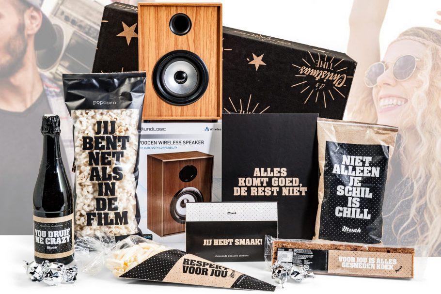 Retro Speaker in dit kerstpakket