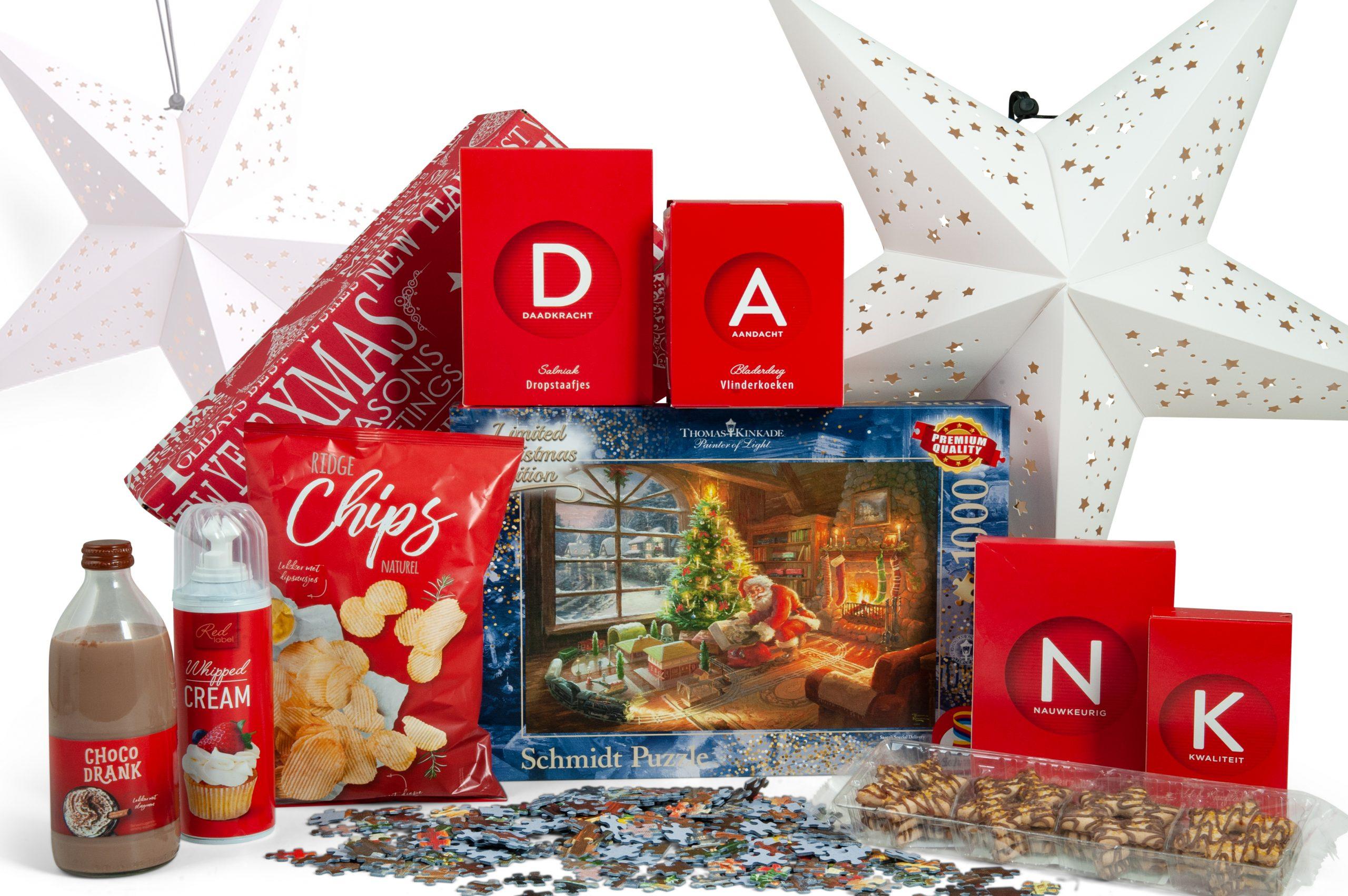 Kerstpakket Samen Puzzelen