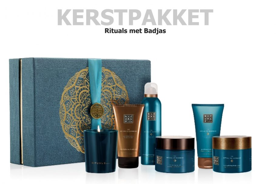 The Ritual of Hammam met Badjas in dit kerstpakket