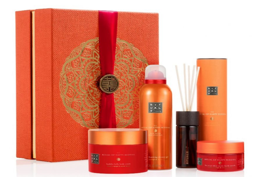 Rituals Happy Buddha energising collection in dit kerstpakket