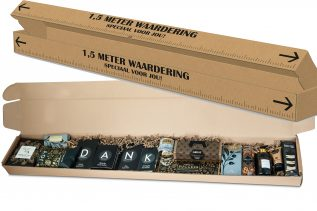 Kerstpakket 1,5 Meter Waardering – DANK!