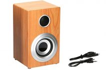 Kerstpakket met Soundlogic wooden speaker