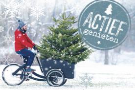 Kerstpakket met het thema Actief Genieten