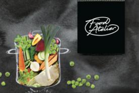 Kerstpakket met het thema Food Atelier