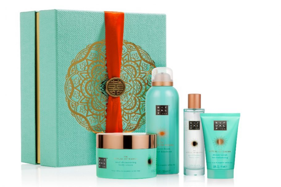 Rituals karma caring collection in dit kerstpakket
