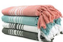 Zomerpakket met diverse kleuren hamamdoek