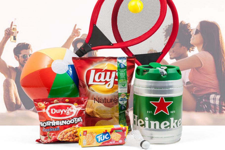 Zomerpakket met Heineken vat 5 Liter