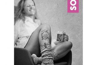 Brievenbuspakket SOXS- wollen damessokken
