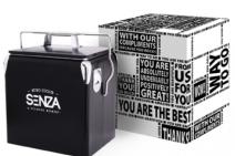 Zomerpakket met Retro Coolerbox zwart